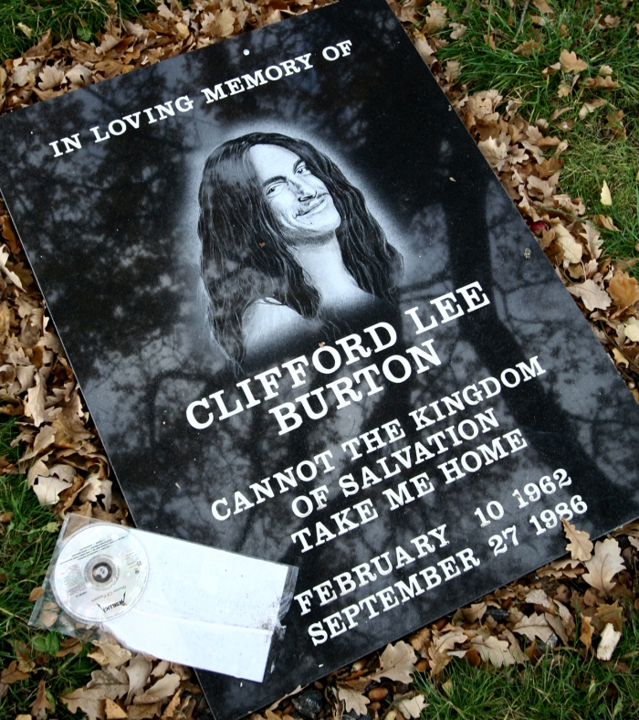 Cliff Burton Memorial Stone