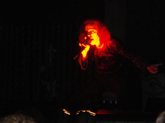 """""""The Evil"""" Dio - Heaven and Hell ao quadrado - São Paulo - maio/2009."""