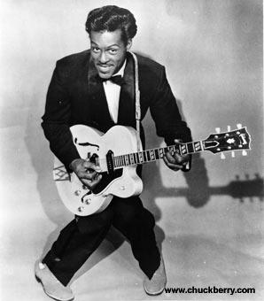 Uma das maiores lendas do rock, Chuck Berry, de novo no Brasil