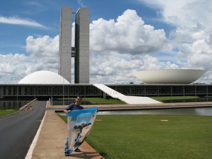 Brasília - 22/março/2009 - 5o show, surdo desde então, o que vi de mais PERTO