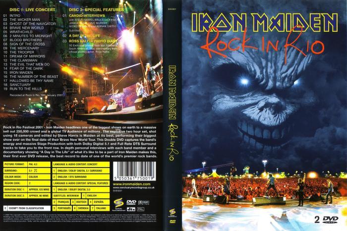 Rock In Rio 3, apresentando ao-vivo o disco Brave New Word, de 2000