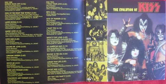 A edição remaster traz o encarte completo da edição original