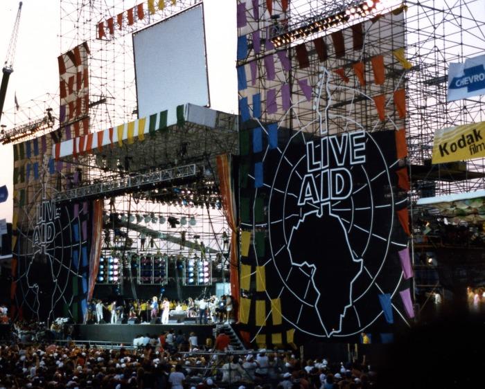 13/julho/1985 - Live Aid - FK Stadium, Filadélfia, EUA
