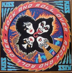 Rock and Roll Over - A capa do vinil brasileiro.