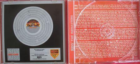 O cd contem um prêmio ao fã - um certificado de platina.