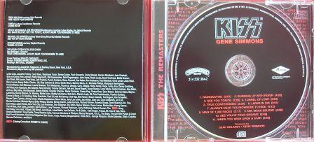 A contracapa e o cd na versão remaster - uma edição caprichada