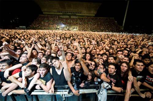Foto de frente para os argentinos...
