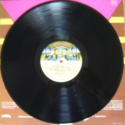 O vinil brasileiro - o álbum nunca foi lançado nos EUA.