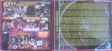 A capa do cd remaster que contém uma resenha em inglês;