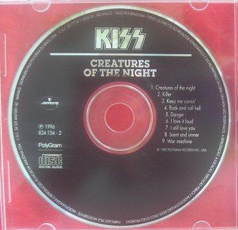 O cd sem o padrão em azul e rosa na edição relançada de 1985