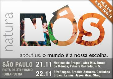 Banner do Festival no site do Live Pass