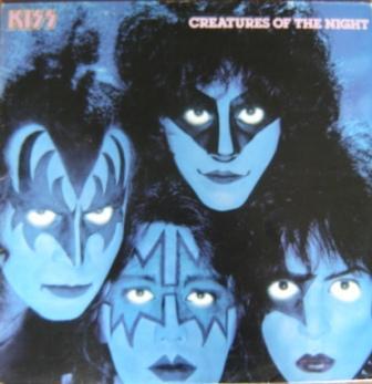 A capa da edição em vinil brasileira de 1983