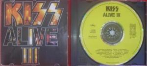 A capa e o cd de Alive III