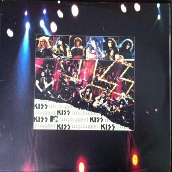 ** A capa do vinil importado do nosso MTV Unplugged: Kiss