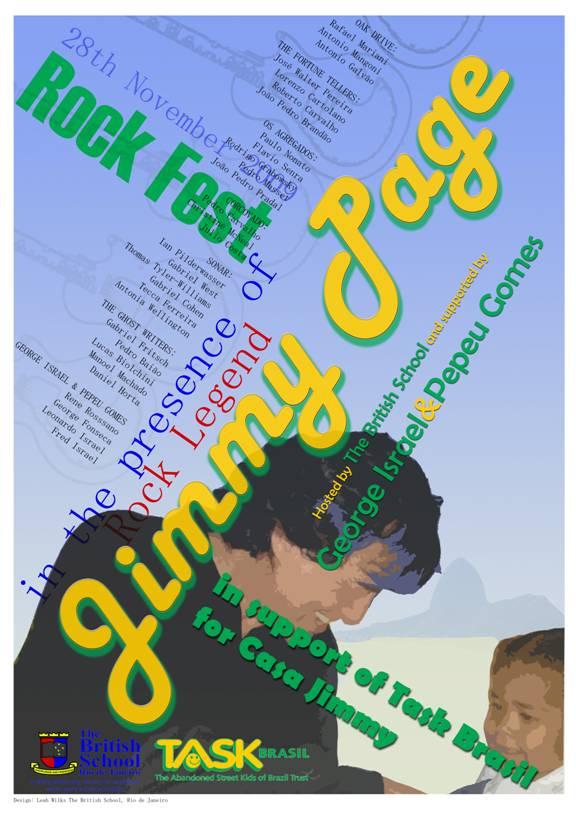 Jimmy Page estará no RJ em 28/nov/2009