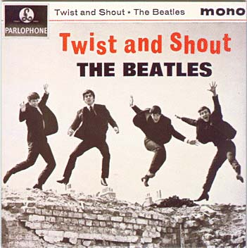 "Capa do ""Twist and Shout (EP)"" - Julho/1963"