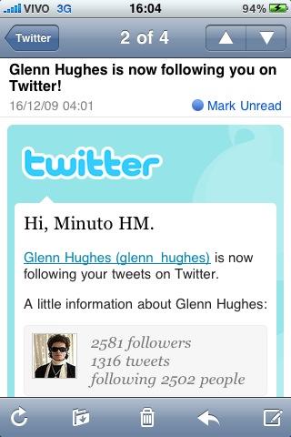Glenn Hughes (@glenn_hughes) seguindo o Minuto HM (@minutohm)