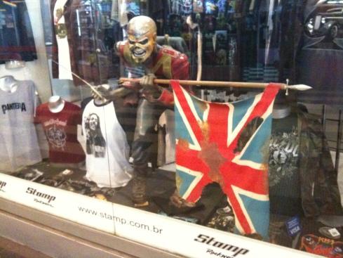 The Trooper na loja Stamp (Galeria do Rock, São Paulo, 2010)