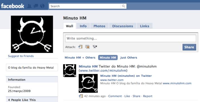 Torne-se fã do Minuto HM no Facebook!