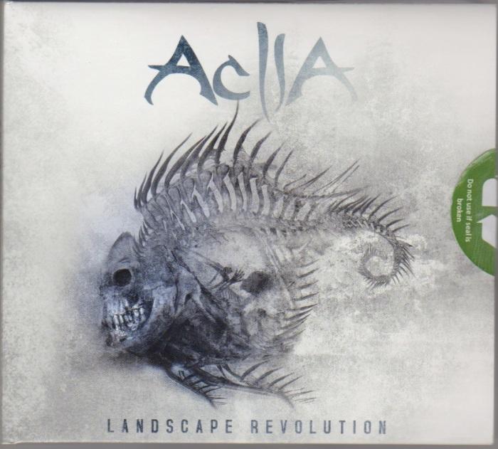Capa do CD Landscape Revolution, ecológico / reciclável (feito nos EUA) e tintas a base de óleo