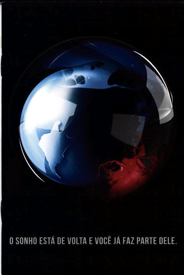 Capa do livrinho-encarte com informações do festival e fotos das edições anteriores