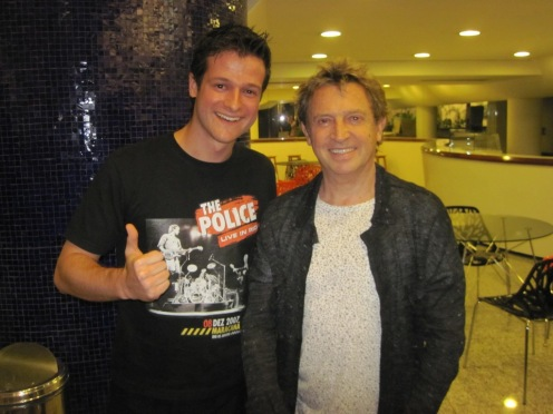 Julio e Andy Summers