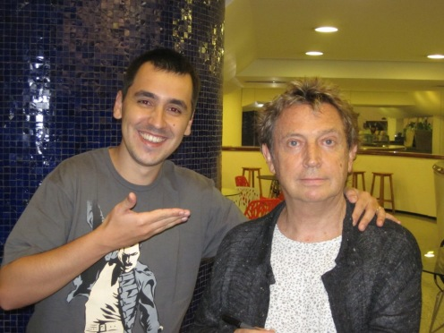 Eduardo e Andy Summers