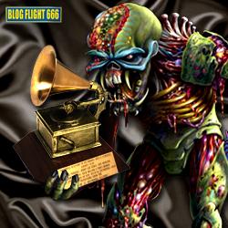 Eddie recebendo seu primeiro Grammy (via Blog Flight 666) :-)