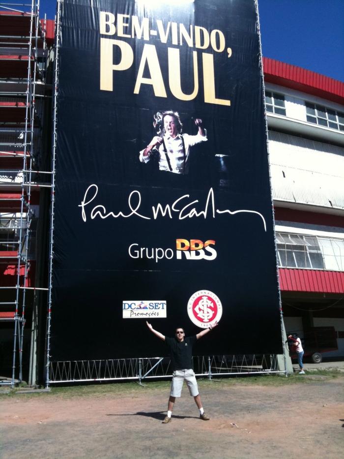 Lembrança do show do Paul McCartney em Porto Alegre (07/novembro/2010
