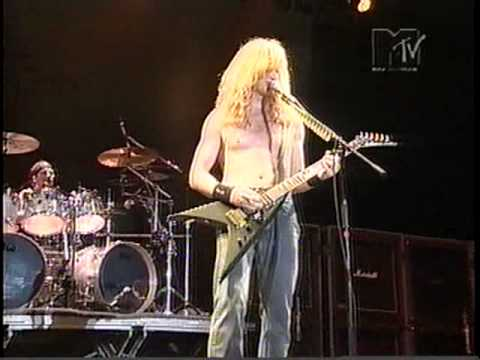 Philips Monsters of Rock 1998 - Dave Mustaine, Megadeth