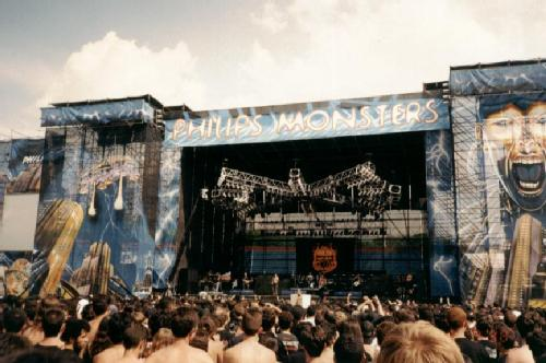Palco - Philips Monsters of Rock 1998