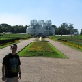 """Chegando no Jardim Botânico, um calor infernal, mas no metal, não existe """"passar frio, passar calor""""... hehehe"""