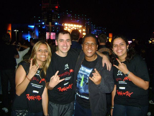 Suellen, Eduardo, Igor (Blog Flight 666) e Aline: um surpreendente encontro (e muito legal)