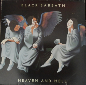 A Capa de Heaven And Hell