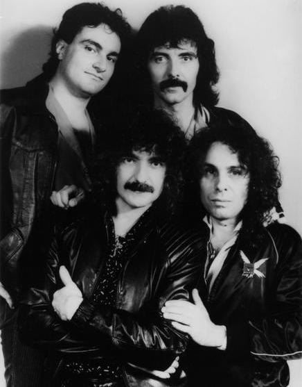 A formação que conclui a turnê de Heaven and Hell, já com Vinnie Appice