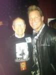Ray Burton, pai do Cliff, com Chris Jericho