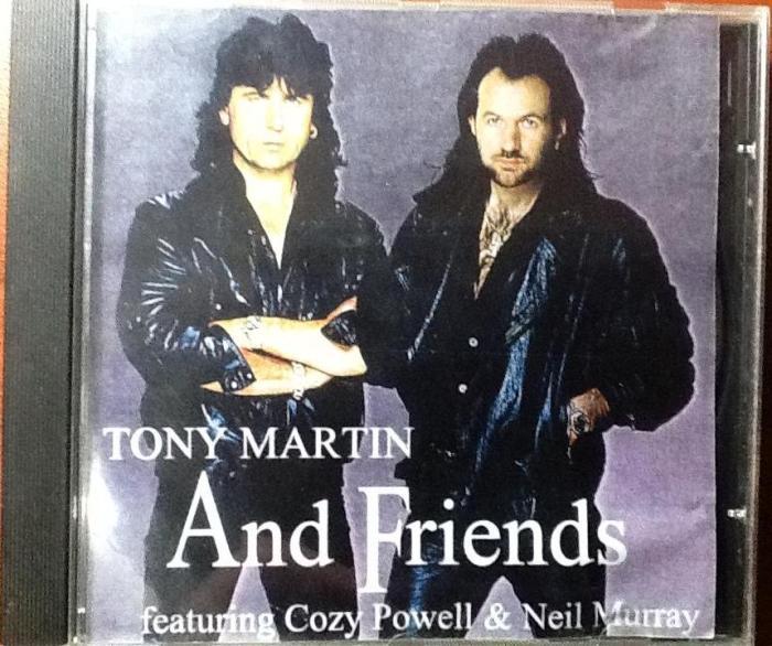 Capa do bootleg Tony Martin And Friends