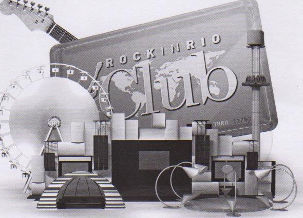 A foto da capa do encarte de apresentação do RiR Club