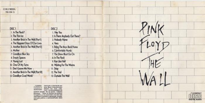 Contra-capa e capa da obra-prima produzida entre abril e novembro de 1979, já com as marcas do tempo.