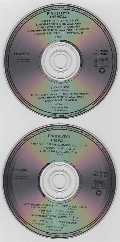 Os CDs (produzidos no México). Apesar da padronização do diâmetro, os primeiros CDs que chegavam ao país tinham maior espessura.