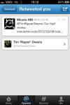 """Tim """"Ripper"""" Owens repassando este post ao seus seguidores do Twitter"""