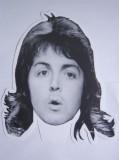 """Máscara do Paul - fase Wings (o único modelo """"intacto"""" que consegui)"""