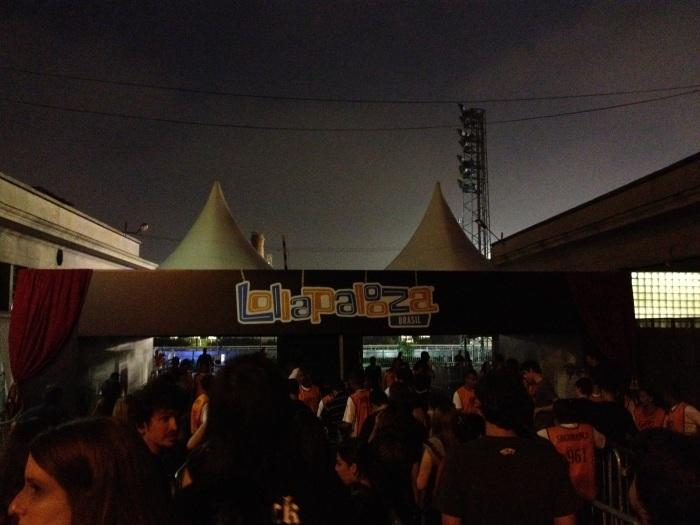 Entrada principal do festival