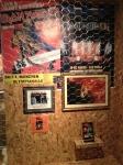 Parede do Iron Maiden com uma cópia do The Soundhouse Tapes