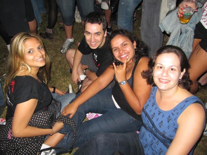 Silvia, Aline, Eduardo e Suellen. Fotógrafa: Carol.