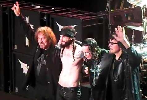 Linha de frente do Black Sabbath com Tommy Clufetos