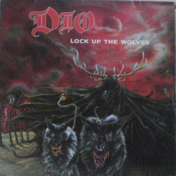 A capa do vinil brasileiro de Lock Up The Wolves