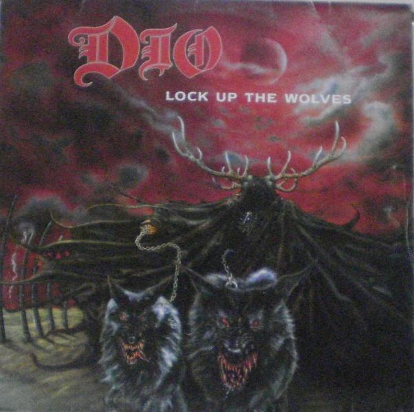 A capa do vinil brasileiro de Lock Up The Wolves