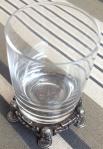 """O """"shot glass"""", com mini-Eddies na base"""