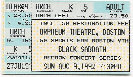BlackSabbath_Ticket_Dehumanizer_Boston_1992